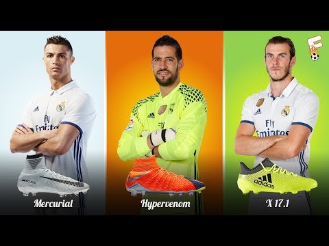 Real Madrid Football Boots 2017 – 2018 ⚽ Real Madrid Boots LineUp ⚽ Botas de fútbol Real Madrid