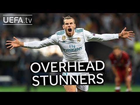 BALE, RONALDO, MANDŽUKIĆ: 5 Stunning CHAMPIONS LEAGUE Overhead Kicks!