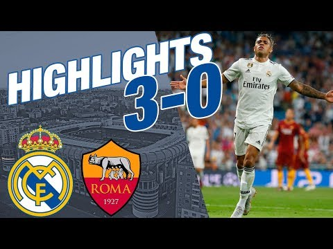 Real Madrid vs Roma | 3 – 0 | ALL GOALS & HIGHLIGHTS