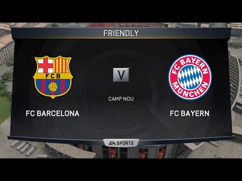 FIFA 15 PC 60fps Gameplay 1080p – FC Barcelona vs FC Bayern Munich (Full Game)