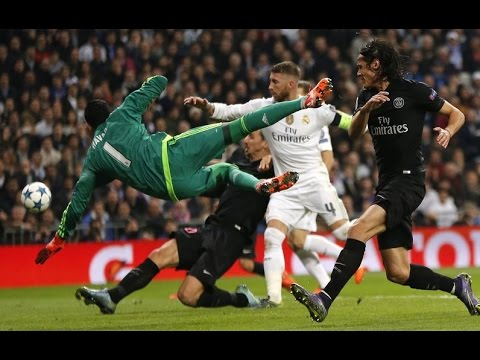 Keylor Navas Crazy Saves Show ● Paradas de Keylor Navas ● 2016 ● New ●HD