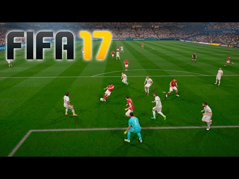 Real Madrid vs Bayern Munich – FIFA 17 DEMO Gameplay