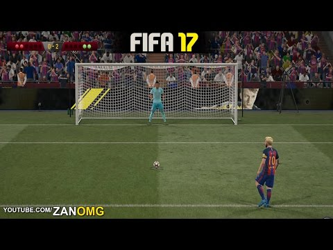 FIFA 17 | Real Madrid vs FC Barcelona (El Clásico Penalty Shootout) HD 1080p