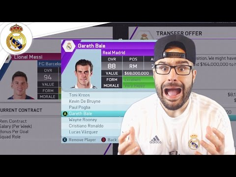 WOW $300,000,000 IN TRANSFER DEALS! – Real Madrid Career Mode FIFA 16 #18
