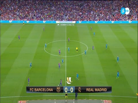 Spanish Super Cup 1st leg (Barcelona vs Real Madrid) 2017 – HD – Full Match – Spanish Commentary