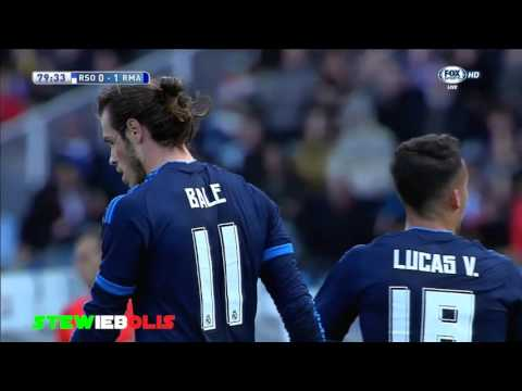 Real Sociedad Vs Real Madrid 0-1 ● Gareth Bale Winning Goal ● 2016 ● HD