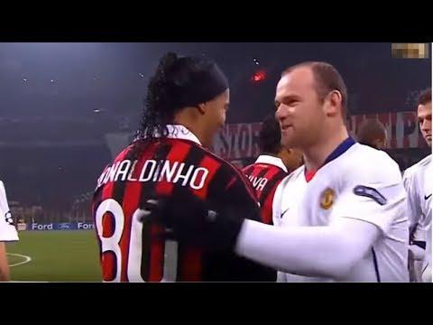 O Dia que Ronaldinho Gaúcho Destruiu o Manchester United ● Ronaldinho Destruindo o Manchester United