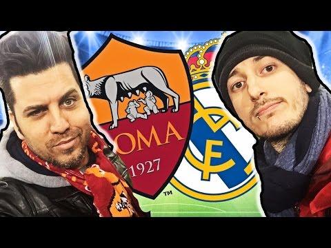 ROMA REAL MADRID 0 – 2 LA REAZIONE DEGLI YOUTUBER ALLO STADIO! (Champions League 2016)
