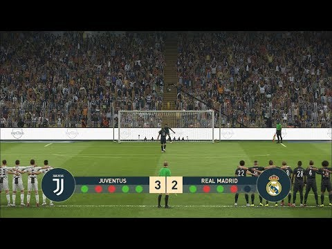 PES 2019 PENALTY SHOOTOUT : Juventus vs Real Madrid