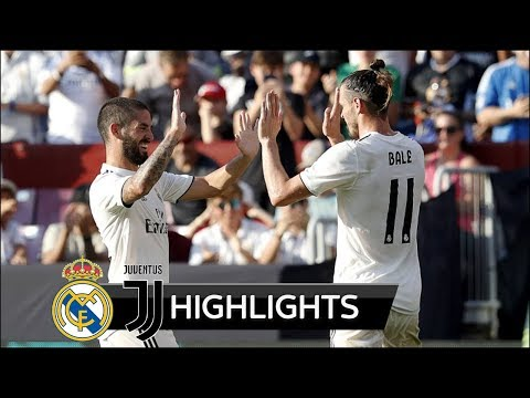 Real Madrid vs Juventus 3-1 – All Goals & Extended Highlights – Friendly 04/08/2018 HD