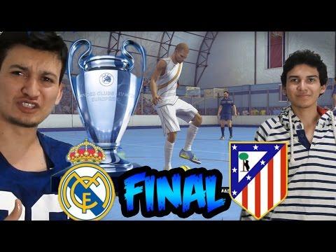 Fifa Street – Real Madrid Vs Atlético de Madrid – Final en Fútbol Sala – Reto del Huevo