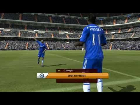 Fifa 15 PSVITA Full Match Gameplay Real Madrid VS Chelsea