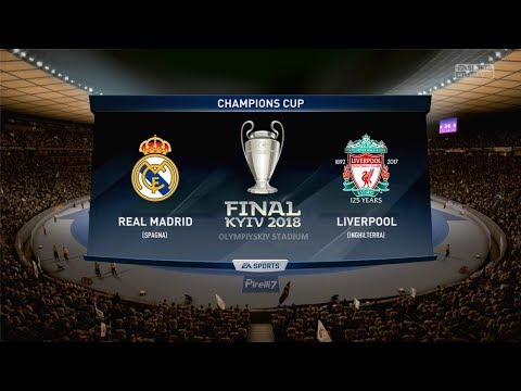 REAL MADRID VS LIVERPOOL FC |CHAMPIONS LEAGUE FINAL 2018| 26.5.2018 – FIFA 18 Predicts – Pirelli7