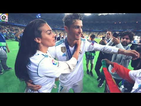 Cristiano Ronaldo And Georgina rodriguez Share A moment After FINAL Champions Match in Kiev