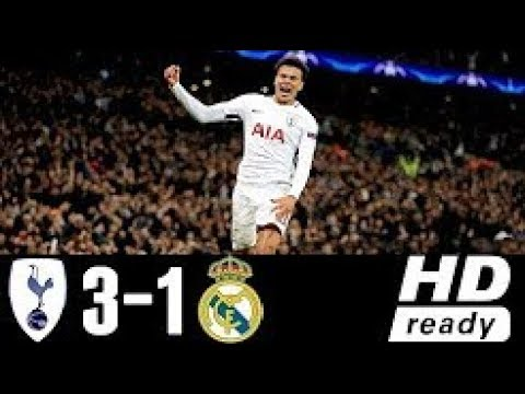 Tottenham Hotspur vs Real Madrid 3-1 Extended Highlights & Goals – 01 NOV 2017