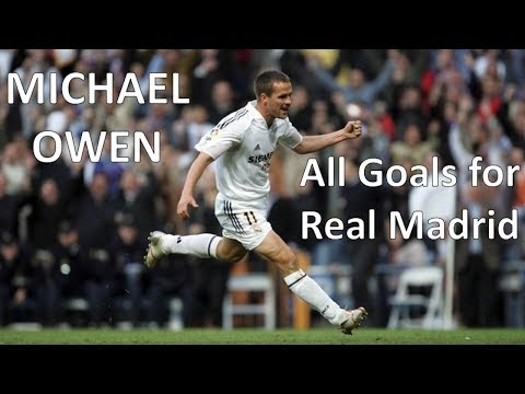 Michael Owen – All 16 Goals for Real Madrid