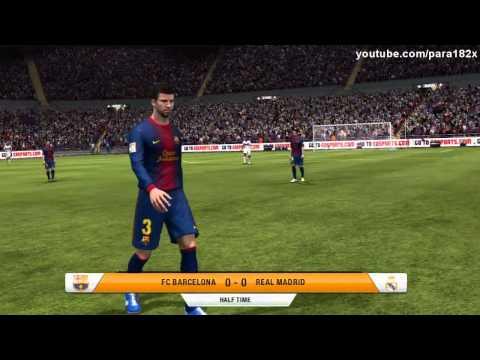 FIFA 13: FC Barcelona vs Real Madrid (Full Game)