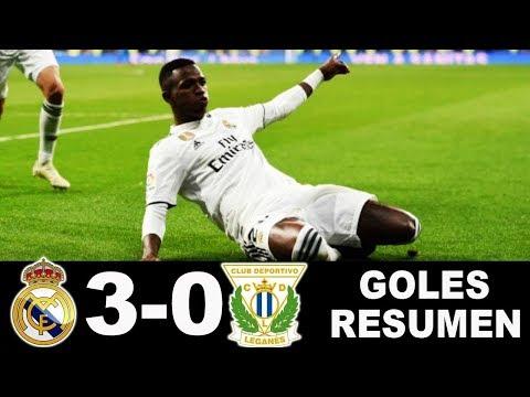 Real Madrid vs Leganes 3-0 | Highlights Resumen y Goles 9/1/2019 HD