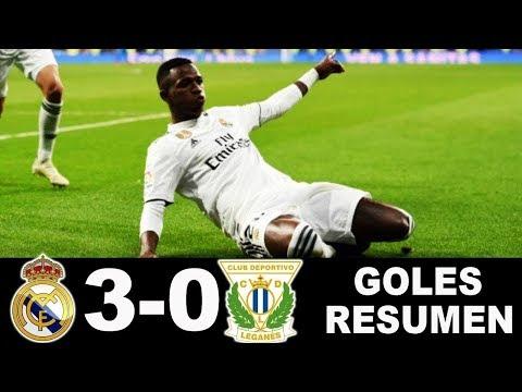 Real Madrid vs Leganes 3-0 | All Goals & Etended Highlights 10/01/2019