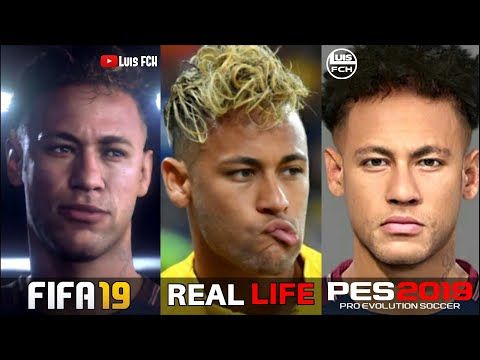 FIFA 19 vs PES 2019 | NEW FACES | REAL MADRID, BARCELONA, ATLÉTICO MADRID | SUGGESTIONS | LuisFCH