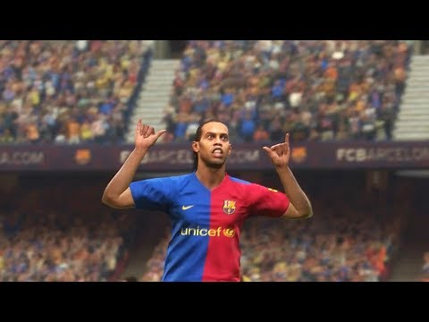 PES 2019 Classic FC Barcelona Vs. Classic Real Madrid CF Full Match