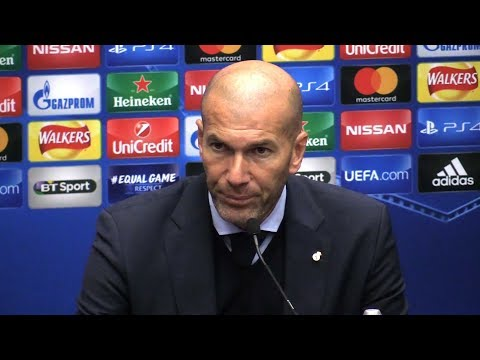Tottenham 3-1 Real Madrid – Zinedine Zidane Full Post Match Press Conference – Champions League