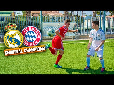 REAL MADRID VS BAYERN ¡SEMIFINAL de CHAMPIONS! Partido Fútbol