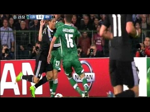 Ludogorets 1-2 Real Madrid – Metas y destacar en HD (UEFA Champions League 01/10/2014)  أهداف مقابلة