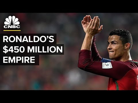 Cristiano Ronaldo Is Worth $450 million – Here's How