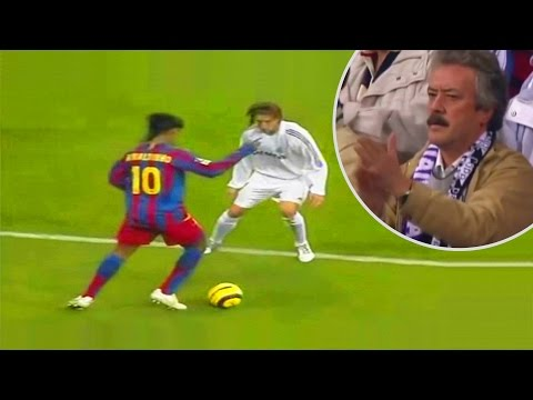 When Ronaldinho Destroyed Real Madrid at Bernabéu
