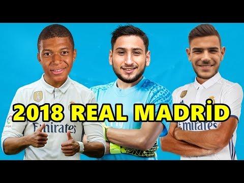 Real Madrid'in Transfer Etmek İstediği Futbolcular 2018