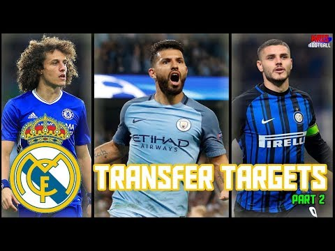 Top 5 Real Madrid Transfer Targets in January 2018 Part 2