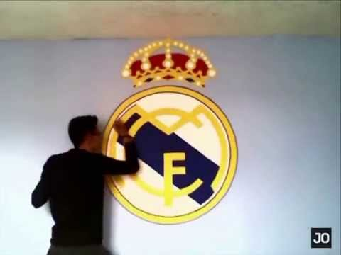 REAL MADRID LOGO SPEED DRAWING | JO VIDEOS