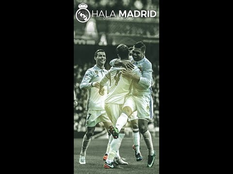 Football wallpaper/REAL MADRID I Photoshop TUTO + Free Wallpaper HD