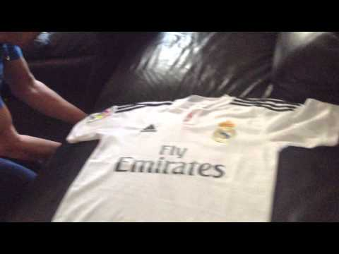 Real Madrid ronaldo t-shirt