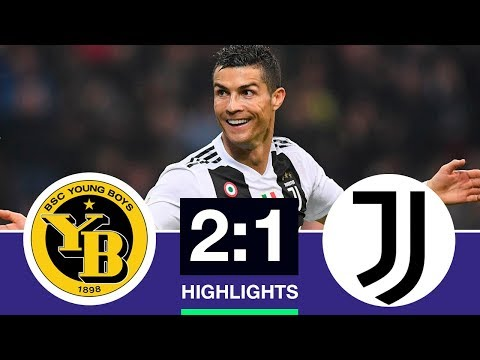 Young Boys vs Juventus 2-1 All Goals & Highlights 2018