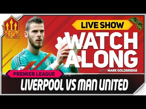 Liverpool 3-1 Manchester United LIVE Watchalong