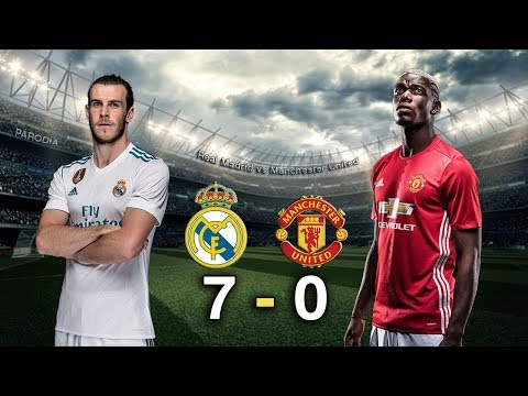 Real Madrid 7 – 0 Manchester United – Amistoso Internacional – INTERNATIONAL CHAMPIONS Cup /Parodia