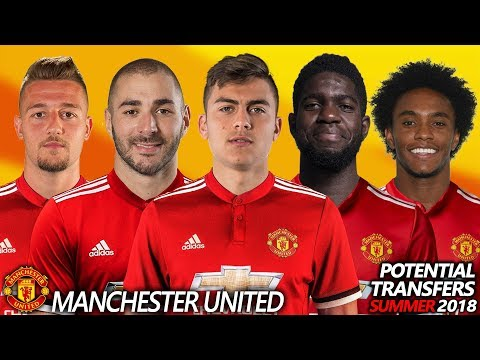 MANCHESTER UNITED – POTENTIAL TRANSFER & RUMOURS SUMMER 2018 | Ft. BENZEMA,DYBALA,UMTITI,WILLIAN…
