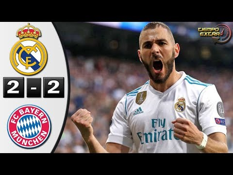 Real Madrid vs Bayern Munich 2-2 UCL 17/18 Resumen Semifinal Vuelta 01/05/2018