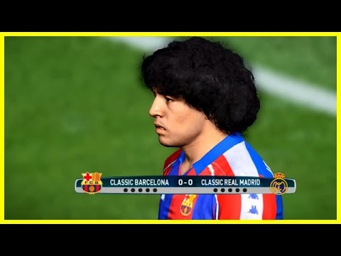 BARCELONA LEGENDS VS REAL MADRID LEGENDS | Penalty Shootout | PES 2017 Gameplay PC