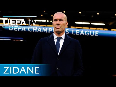 Zidane on being a player and coach at Real Madrid