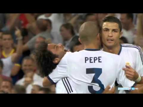 Goals match Real Madrid 2 – 1 Barcelona | Super Cup 2012 | HD
