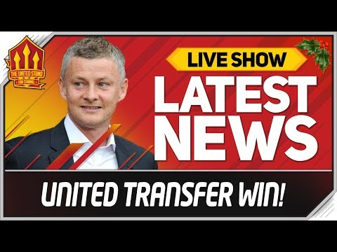 Man Utd Win Solskjaer Transfer Battle! Man Utd News Now