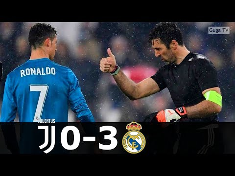 Juventus vs Real Madrid 0-3 – UCL 2017/2018 (1st Leg) – Highlights HD