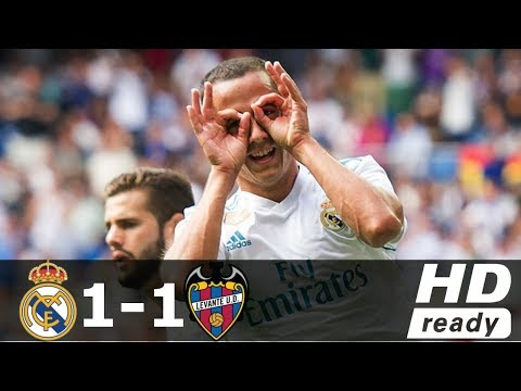 Real Madrid vs Levante 1-1 ● All Goals & Highlights ● 09 September 2017 HD