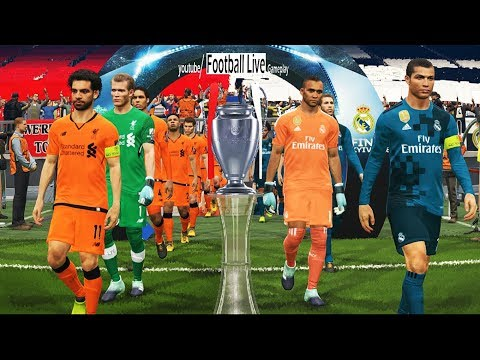 PES 2018 | Real Madrid vs Liverpool FC | Final UEFA Champions League – UCL | Gameplay PC