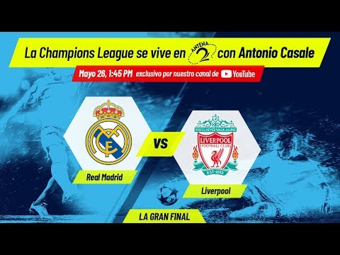 Real Madrid vs Liverpool | Final de la Champions League