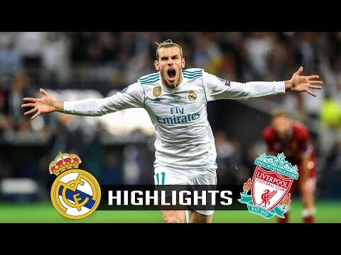 Real Madrid vs Liverpool | 3-1 | Highlights & Trophy | UCL Final – 2017/2018