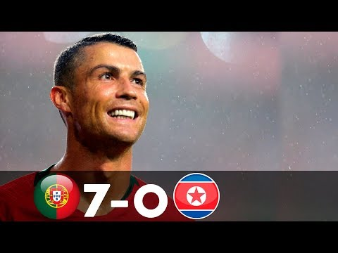 Portugal Vs North Korea 7-0 | All Goals & Full Highlights